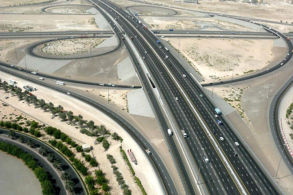 Department of Transport, Replacement of Traffic Signal, Sheikh Mohammed  Bin Zayed City