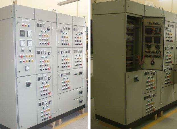 Sprinkler Control Panel : Start electrical switchgear l c