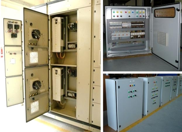 HVAC Control Panel (AHU, FAHU, FCU, Chilled water pump control panel)