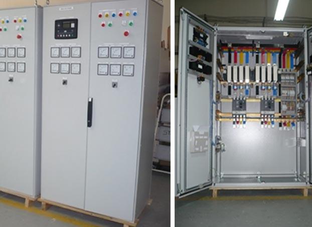 PLC based ATS Panel