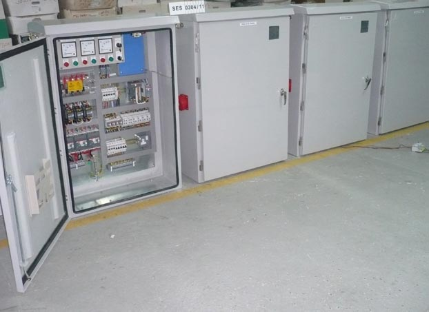 Traffic Signal ATS Panel (PLC Based)
